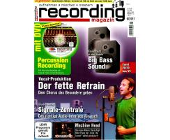 Recording Magazin 06 2011 Printausgabe oder PDF Download