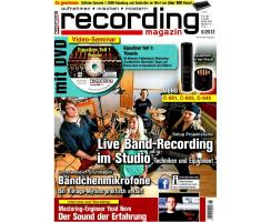 Recording Magazin 06 2013 Printausgabe oder PDF Download