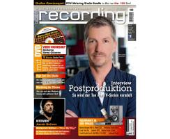 Recording Magazin 06 2015 Printausgabe oder PDF Download