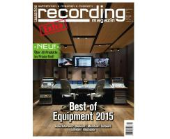 Recording Magazin Extra: Best Of Equipment 2015