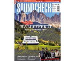 SOUNDCHECK 07 2018 Printausgabe oder PDF Download