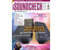 SOUNDCHECK 09 2019 Printausgabe oder PDF Download