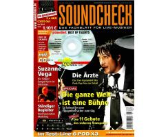 SOUNDCHECK 01 2008 Printausgabe oder PDF Download