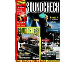 SOUNDCHECK 02 2008 Printausgabe oder PDF Download
