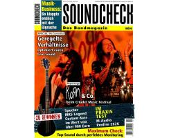 SOUNDCHECK 08 2009 Printausgabe oder PDF Download