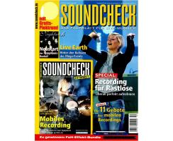 SOUNDCHECK 10 2007 Printausgabe oder PDF Download
