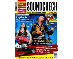 SOUNDCHECK 10 2009 Printausgabe oder PDF Download