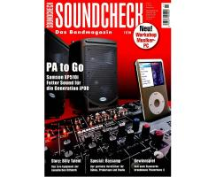 SOUNDCHECK 11 2010 Printausgabe oder PDF Download