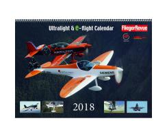 Ultralight & e-flight Calendar 2018