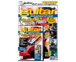 guitar Songbook mit DVD Vol. 3: School of Rock