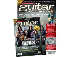 guitar school of rock Hardrock - Songbook mit DVD
