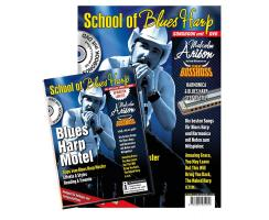 School of Blues Harp - Songbook mit DVD