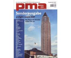 pma Sonderheft 2007 Prolight+ Sound