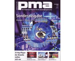 pma Sonderheft Prolight + Sound 2013