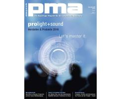 pma Sonderheft Prolight + Sound 2016