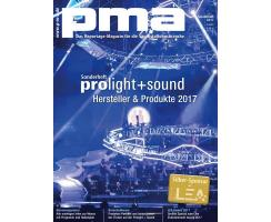 pma Sonderheft Prolight + Sound 2017