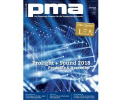 pma Sonderheft Prolight + Sound 2018