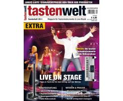 tastenwelt EXTRA 2011: Live on stage