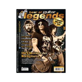 Best of guitar: Legends I - Die Überväter der Rockgitarre