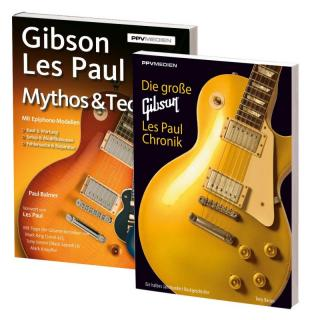 Bundle Gibson Les Paul Chronik & Gibson Mythos & Technik