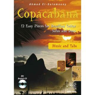 Copacabana. 12 Easy Pieces for Brazilian Guitar. Solos and Duos. Music andTabs