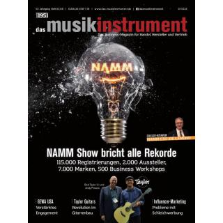 Das Musikinstrument 02 2018 Printausgabe oder PDF Download