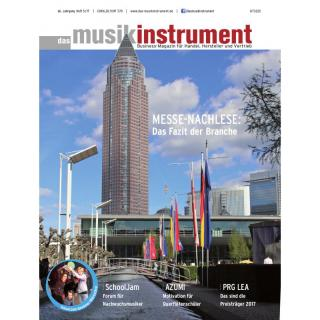 Das Musikinstrument 05 2017 Printausgabe oder PDF Download