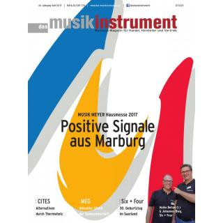Das Musikinstrument 10 2017 Printausgabe oder PDF Download