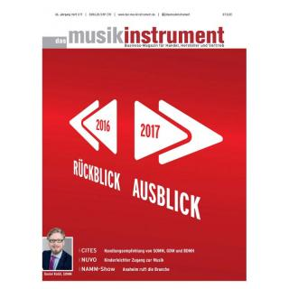 Das Musikinstrument 01 2017 Printausgabe oder PDF Download