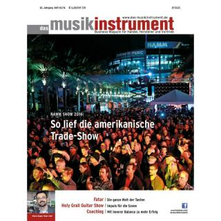 Das Musikinstrument 02 2016 Printausgabe oder PDF Download