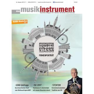 Das Musikinstrument 03 2017 Printausgabe oder PDF Download