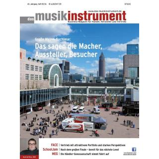Das Musikinstrument 05 2016 Printausgabe oder PDF Download