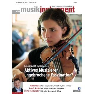 Das Musikinstrument 08 2016 Printausgabe oder PDF Download