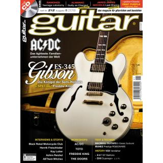 Guitar Magazin aktuelle Ausgabe