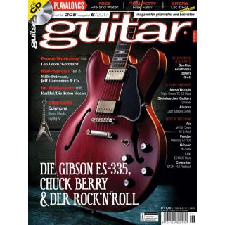 Guitar 06 2017 Printausgabe oder PDF Download