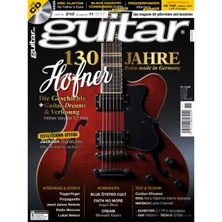Guitar 11 2017 Printausgabe oder PDF Download
