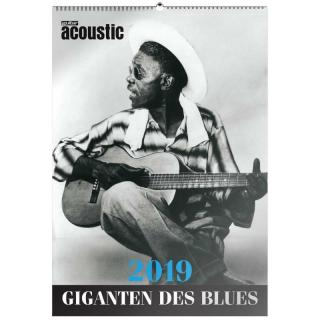 Guitar Acoustic Blues-Kalender 2019
