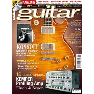 Guitar 02 2017 Printausgabe oder PDF Download