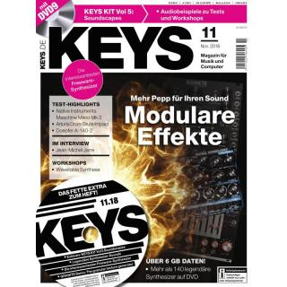 Keys 11 2018 Printausgabe oder PDF Download