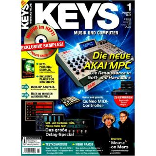 Keys 01 2013 Printausgabe oder PDF Download