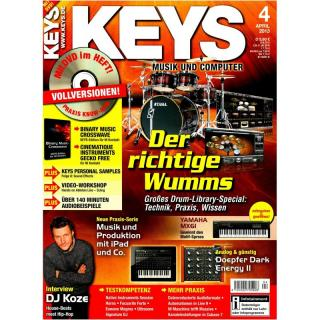 Keys 04 2013 Printausgabe oder PDF Download