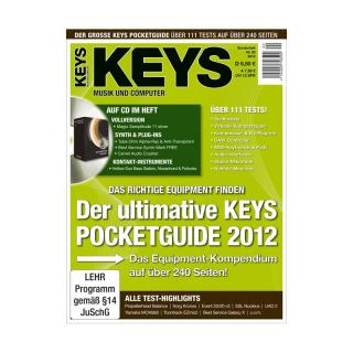 Keys Pocketguide 2012 mit Magix Samplitude 11 silver Vollversion und Synth & Plug-Ins auf Heft CD