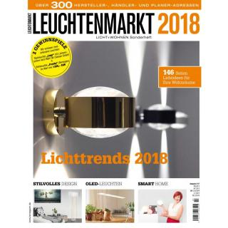 licht wohnen leuchtenmarkt 2018 ppvmedien 5 50. Black Bedroom Furniture Sets. Home Design Ideas