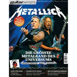 METALLICA - guitar artists