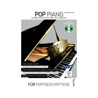 Pop Piano - Lehrbuch mit CD+ (Audio/Video)