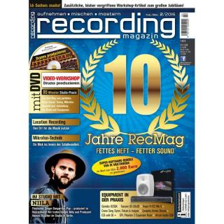 Recording Magazin 02 2016 PDF Download