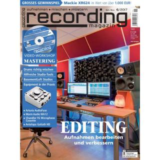 Recording Magazin 06 2017 Printausgabe oder PDF Download
