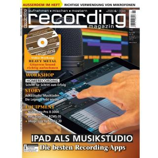 Recording Magazin 06 2018 Printausgabe oder PDF Download