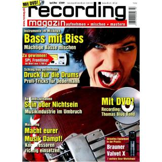 Recording Magazin 03 2009 Printausgabe oder PDF Download