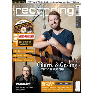 Recording Magazin 06 2016 Printausgabe oder PDF Download